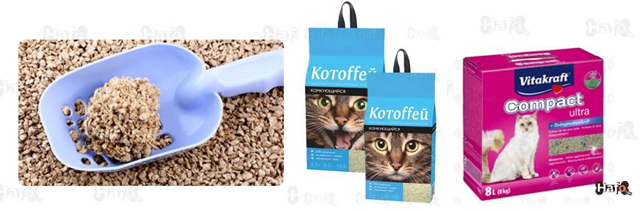 Կատուների քարացող լցանյութ